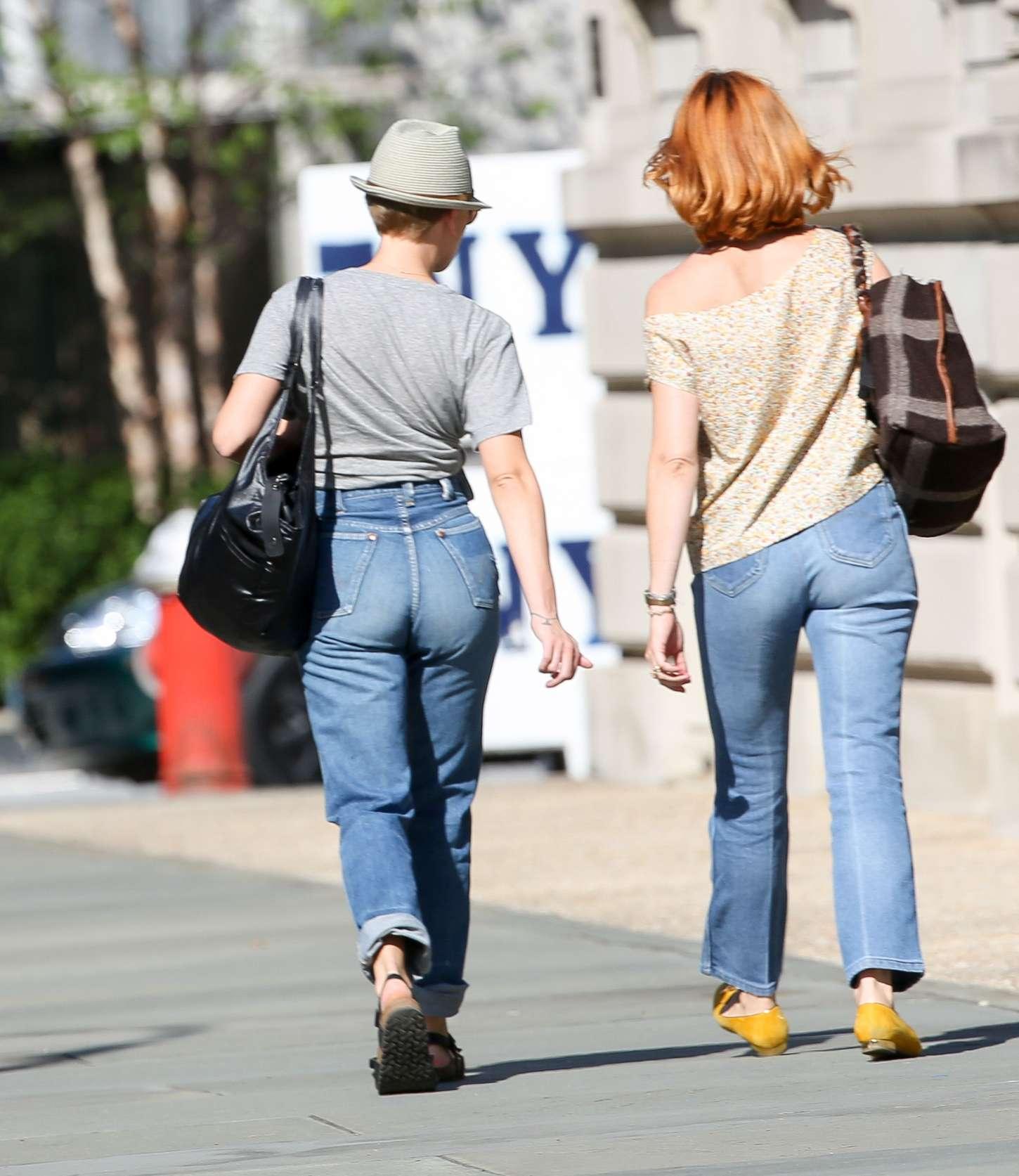 Scarlett Johansson 2015 : Scarlett Johansson in Jeans -05
