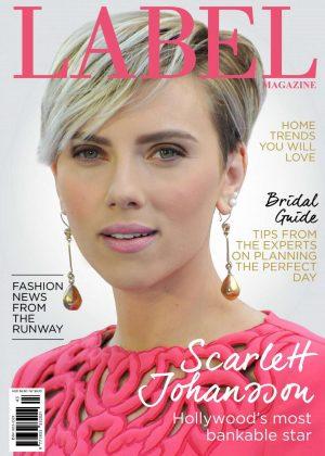 Scarlett Johansson - Label Magazine (Spring 2016)
