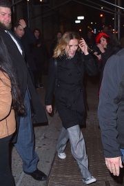 Scarlett Johansson - Leave the SNL after-party in NYC