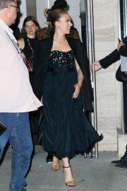 Scarlett Johansson - Leaving Lincoln Center at 57th New York Film Festival in New York