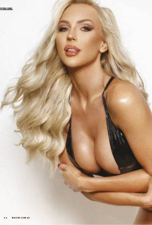 Scarlett Johansson look-alike Christine Quinn - Maxim magazine (Australia - October 2020)