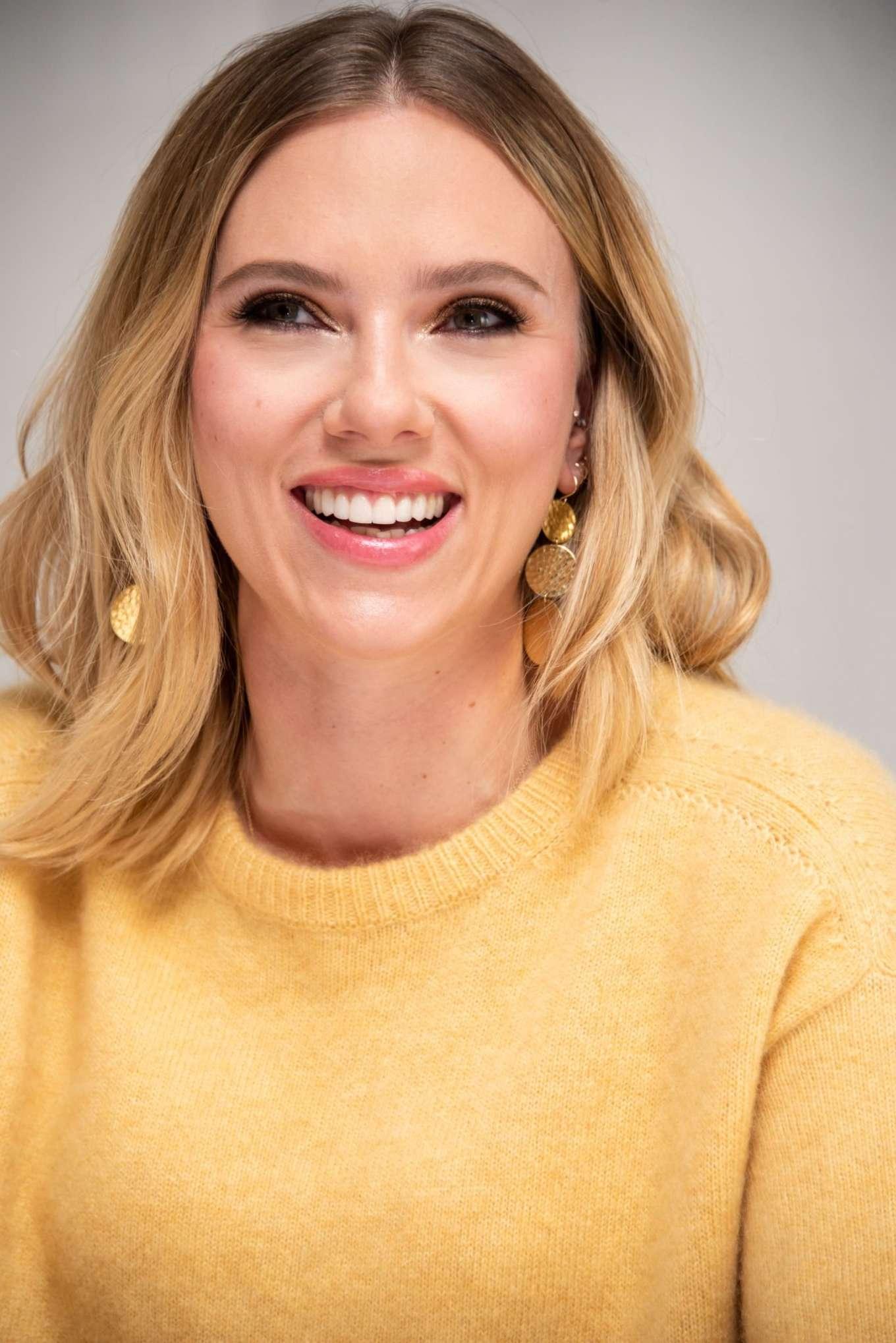 Scarlett Johansson 2019 : Scarlett Johansson – Marriage Story Press Conference in Los Angeles-01