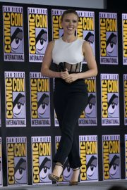 Scarlett Johansson - Marvel Panel at Comic Con San Diego 2019