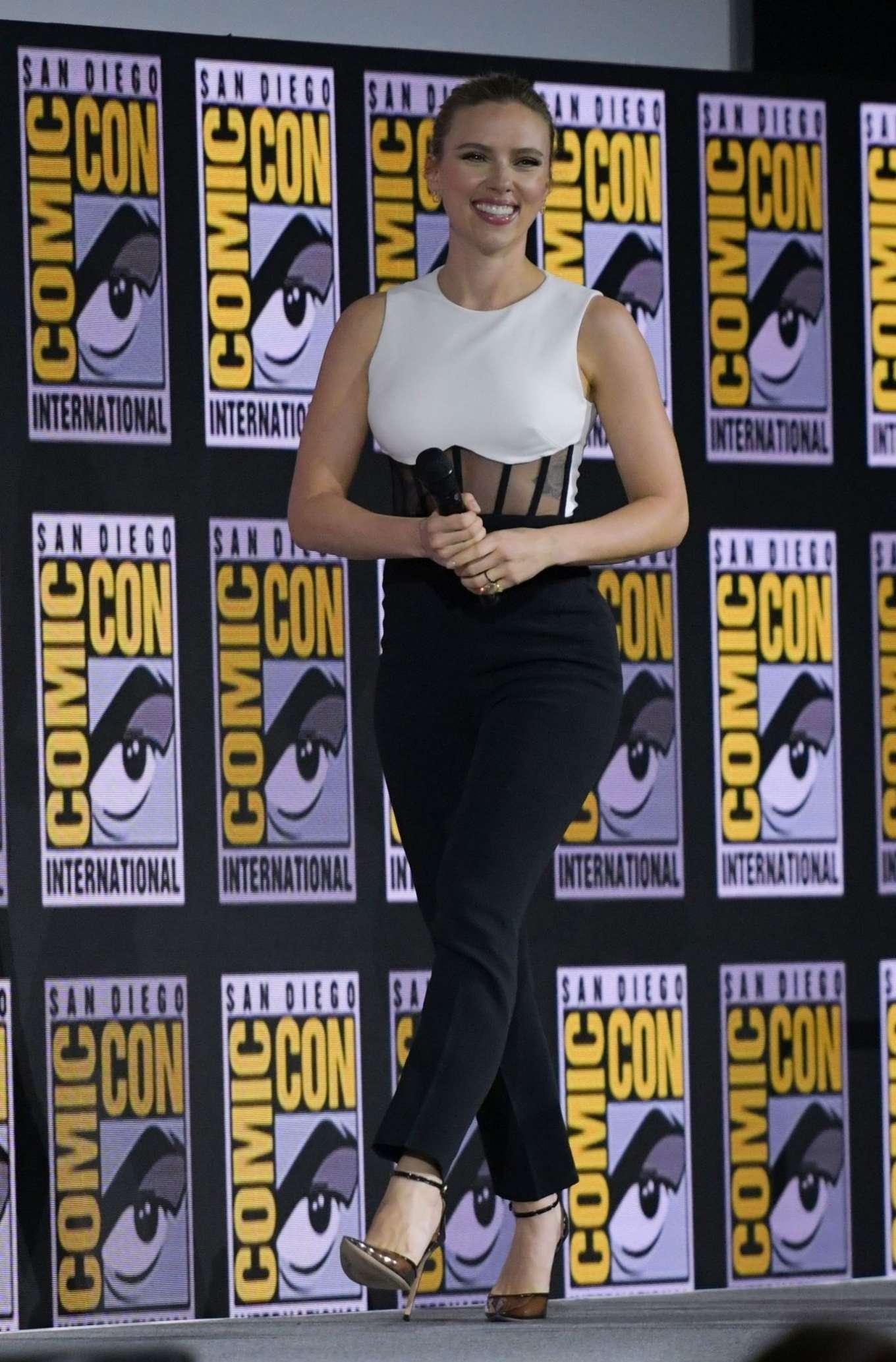Scarlett Johansson - Marvel Panel at Comic Con San Diego 2019