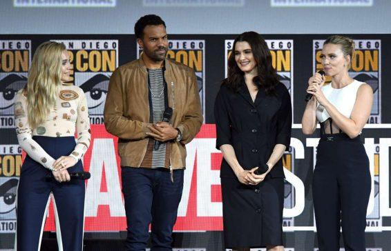 Scarlett Johansson 2019 : Scarlett Johansson – Marvel Panel at Comic Con San Diego 2019-05