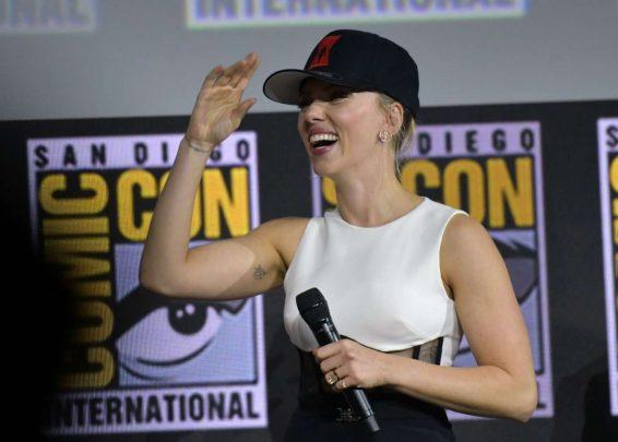 Scarlett Johansson 2019 : Scarlett Johansson – Marvel Panel at Comic Con San Diego 2019-07