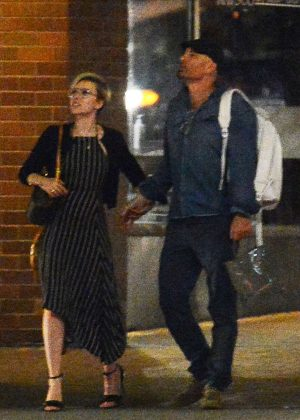 Scarlett Johansson - Night Out in NYC