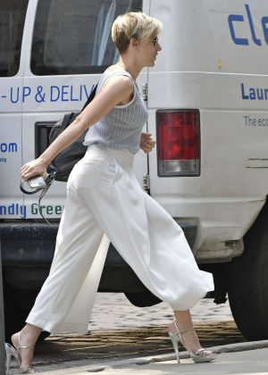 Scarlett Johansson out and about in New York