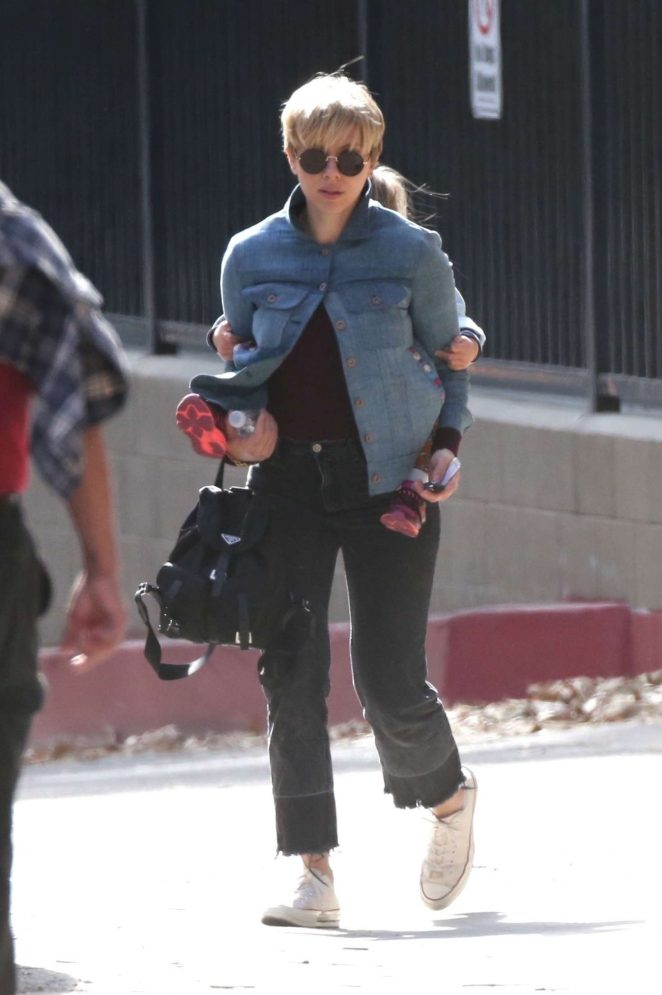 Scarlett Johansson out in Los Angeles