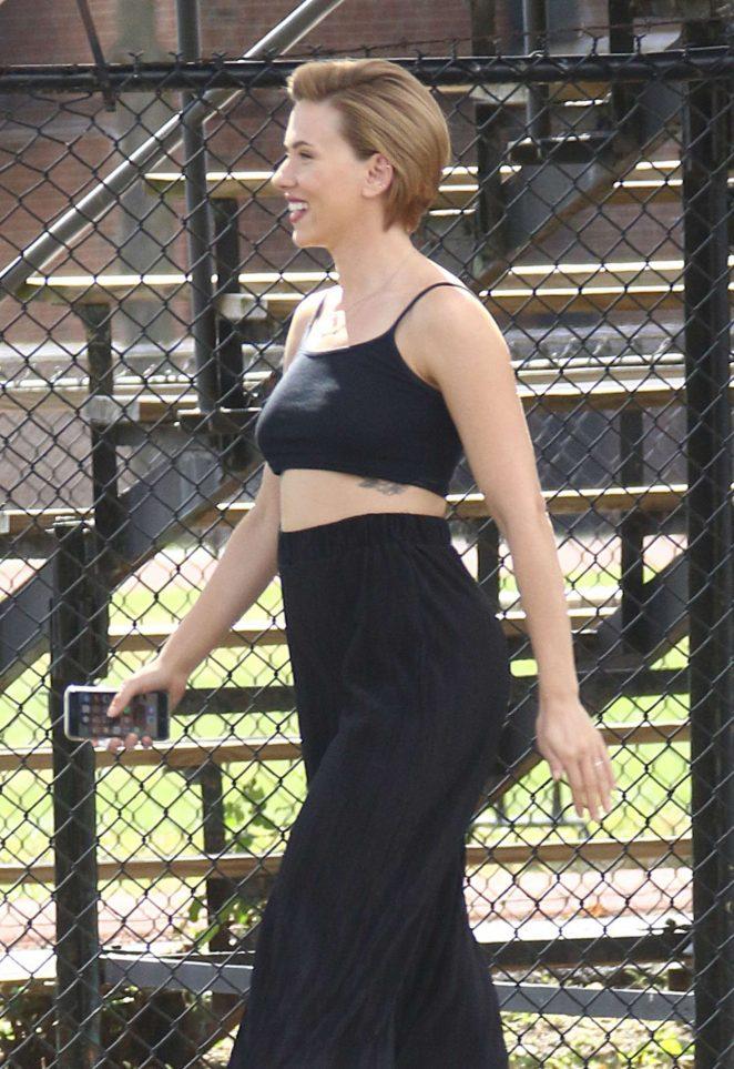 Scarlett Johansson - Out in New York City