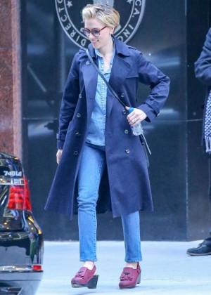 Scarlett Johansson in Jeans out In New York