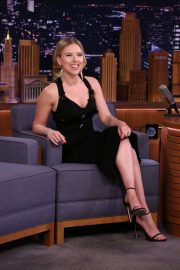 Scarlett Johansson - Pictured on The Tonight Show Starring Jimmy Fallon in NYC