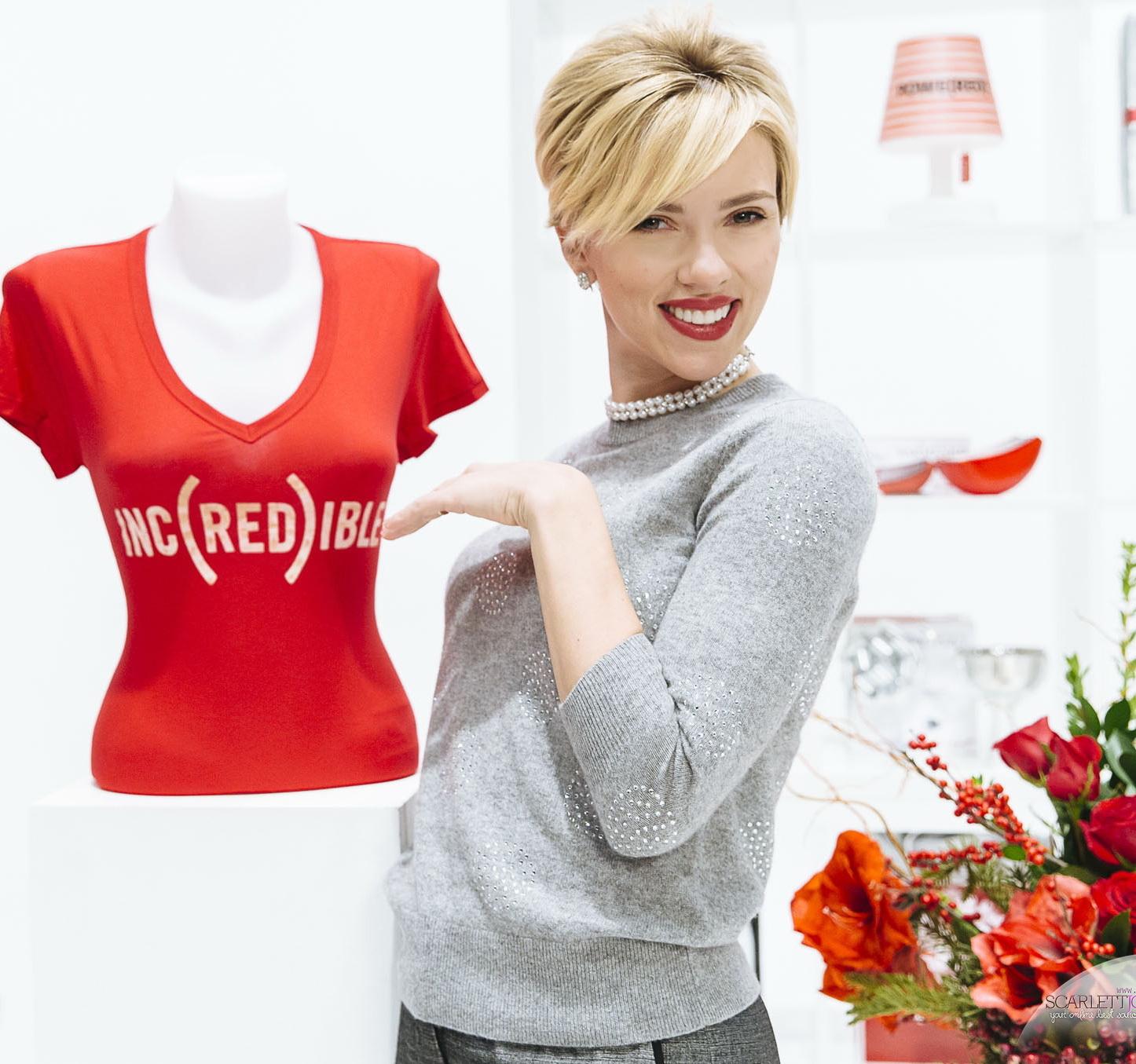 Scarlett Johansson - Projet (SHOPATHON) RED Stills