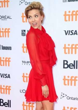 Scarlett Johansson - 'Sing' Premiere at 2016 Toronto International Film Festival