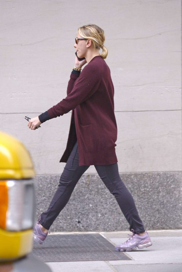 Scarlett Johansson - Spotted while out In New York City