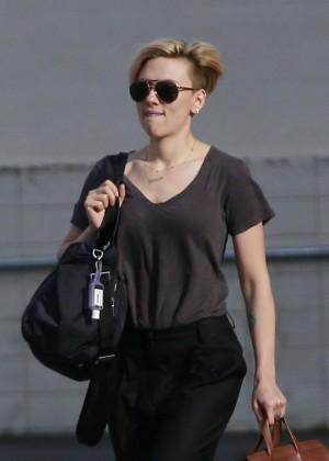 Scarlett Johansson Street Style - out in LA