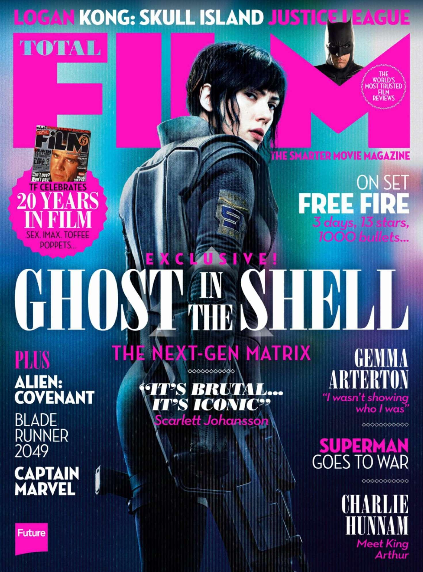 Scarlett Johansson Total Film Magazine April 2017 Gotceleb