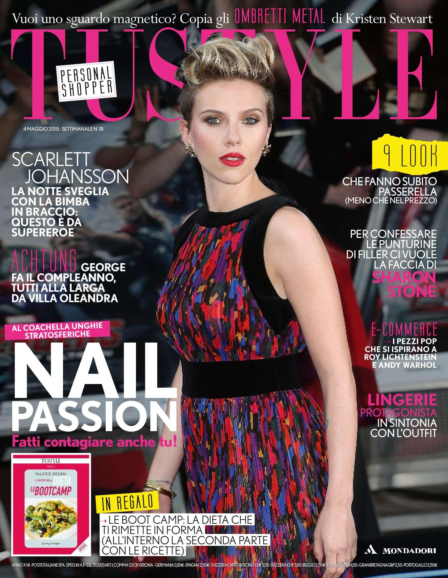 Scarlett Johansson - TuStyle Magazine (May 2015)