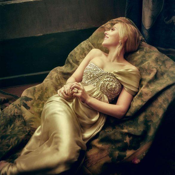 Scarlett Johansson - Vanity Fair Oscars Portrait by Mark Seliger 2020