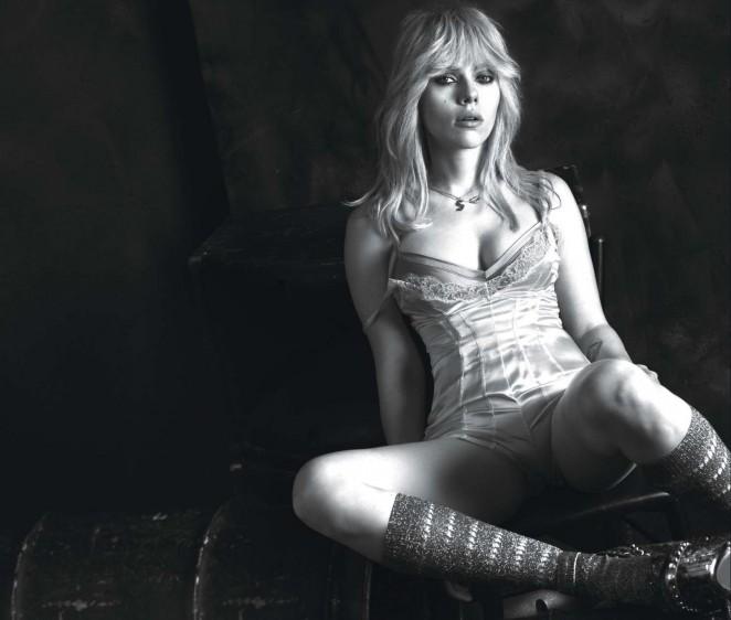 Scarlett Johansson - W Magazine Photoshoot 2015