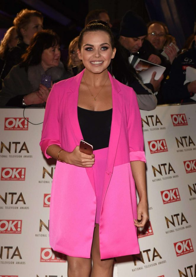 Scarlett Moffatt - 2017 National Television Awards in London