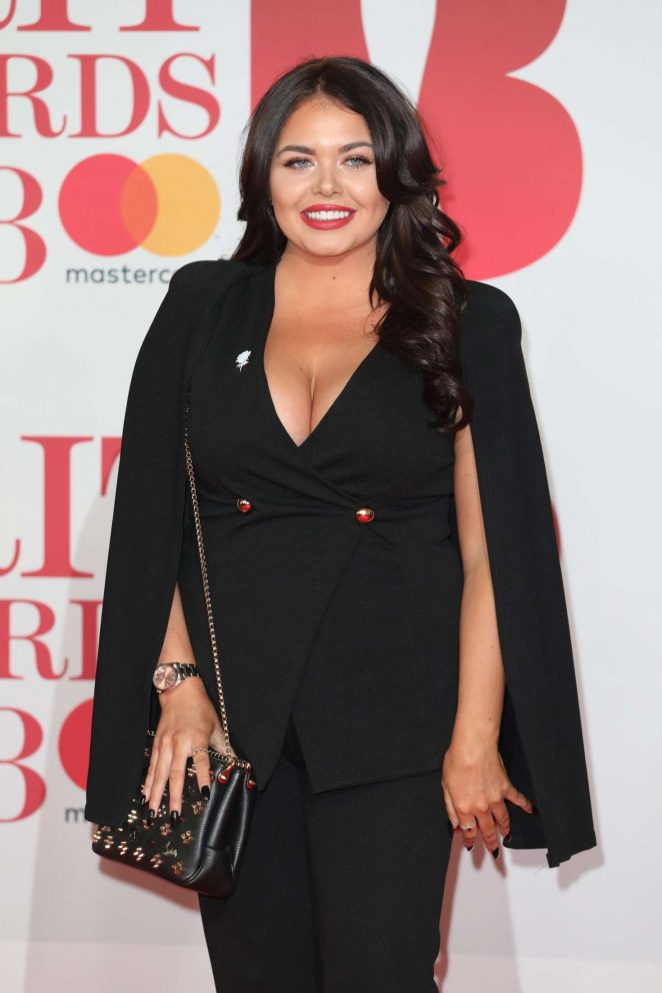 Scarlett Moffatt - 2018 Brit Awards in London
