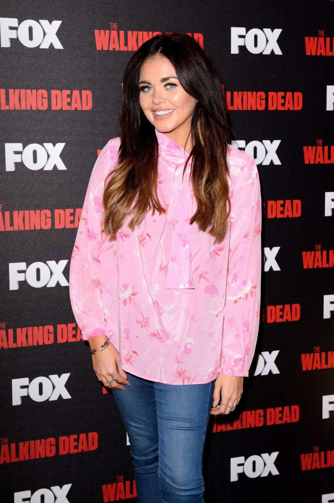 Scarlett Moffatt - 'A night with The Walking Dead' TV Series Screening in London