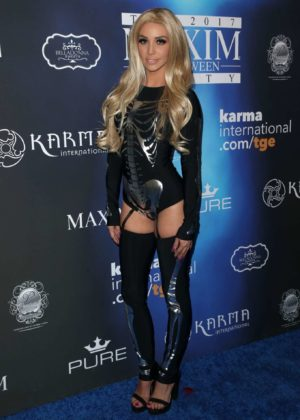 Scheana Marie - 2017 Maxim Halloween Party in Los Angeles