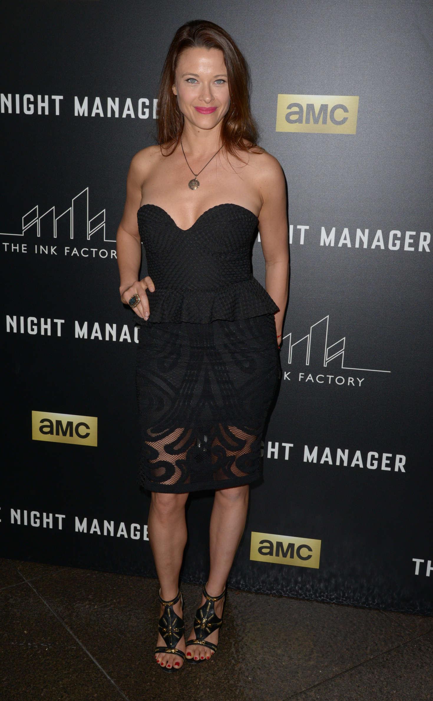 Scottie Thompson 2016 : Scottie Thompson: The Night Manager LA Premiere -01