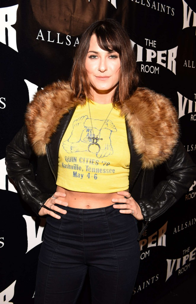 Scout Taylor Compton - The Official Viper Room Re-Launch Party in West Hollywood
