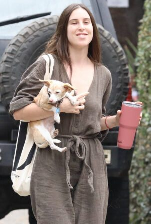 Scout Willis - heads to her sister Rumer's house in Los Angeles