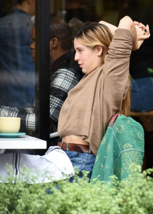 Scout Willis - Out for lunch in LA