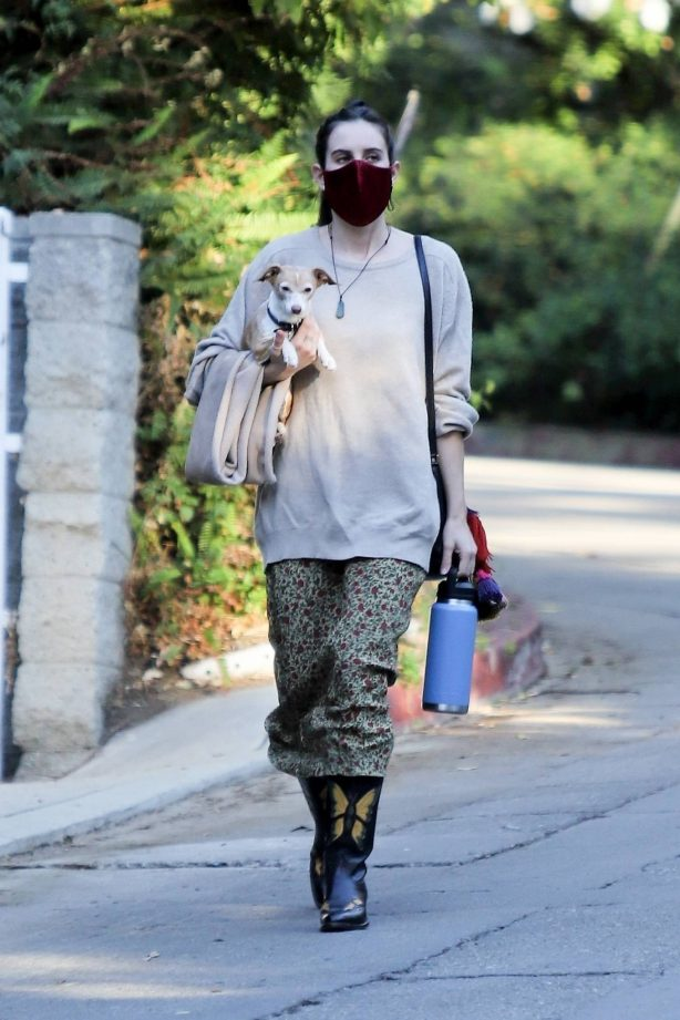 Scout Willis - Seen while out in Los Feliz