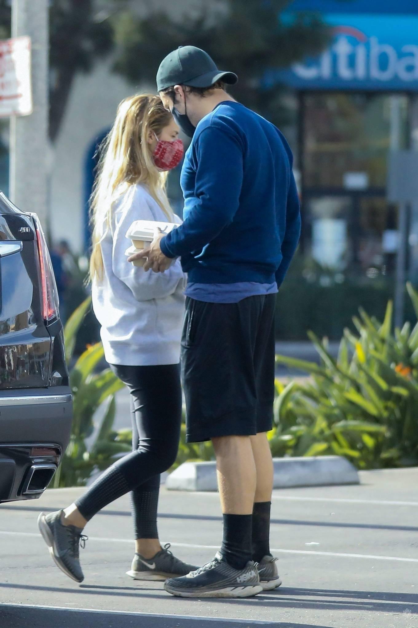 Alejandra Onieva 2020 : Sebastian Stan and Alejandra Onieva – Seen at The Grove in Los Angeles-02