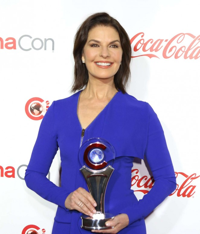 Sela Ward - CinemaCon Big Screen Achievement Awards 2016 in Las Vegas