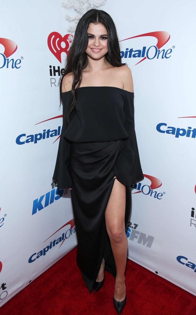 Selena Gomez: 102 7 KIIS FMs Jingle Ball 2015 -03