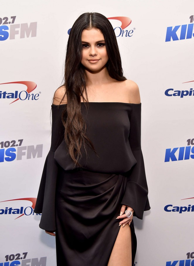 Selena Gomez: 102 7 KIIS FMs Jingle Ball 2015 -06