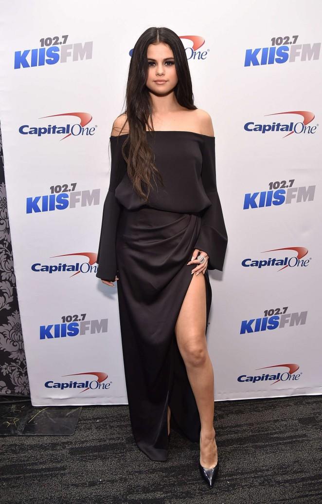 Selena Gomez: 102 7 KIIS FMs Jingle Ball 2015 -08