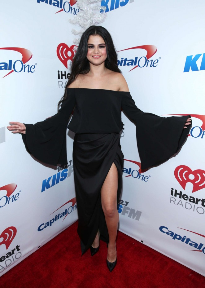 Selena Gomez: 102 7 KIIS FMs Jingle Ball 2015 -09