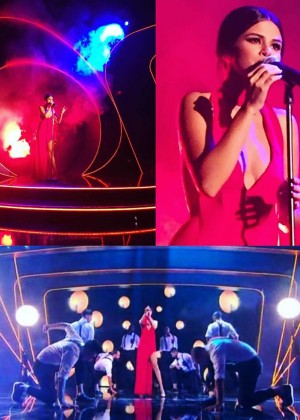 Selena Gomez: 2015 BBC Children In Need Concert -01