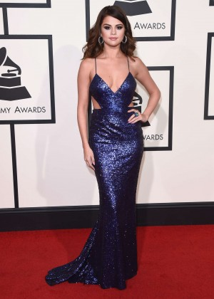 Selena Gomez: 2016 GRAMMY Awards -01