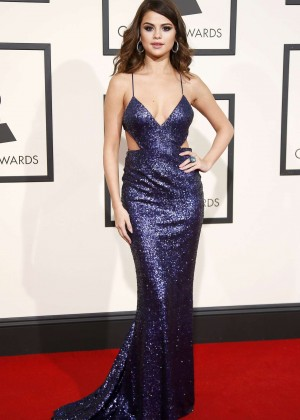 Selena Gomez: 2016 GRAMMY Awards -04