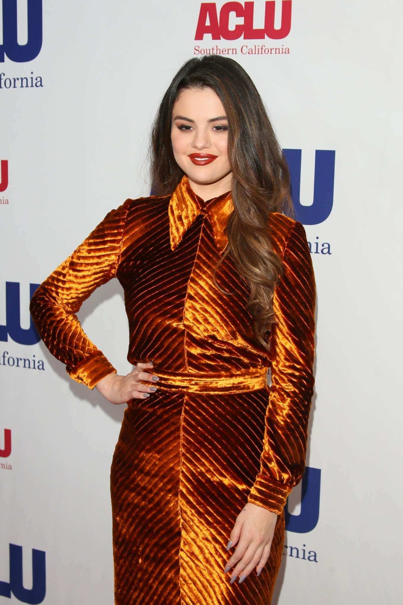 Selena Gomez - ACLU SoCal's Annual Bill Of Rights Dinner in Beverly Hills