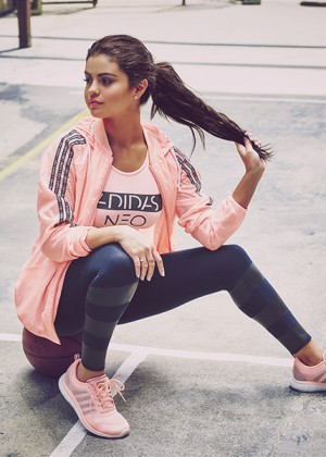 Selena Gomez - Adidas Neo Fall-Winter Collection (2015)