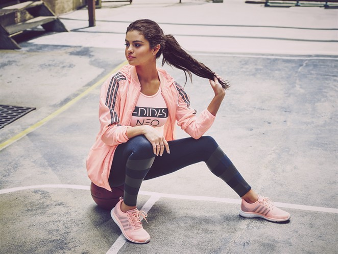 new style bee56 cac5f Selena Gomez - Adidas Neo Fall-Winter Collection (2015)