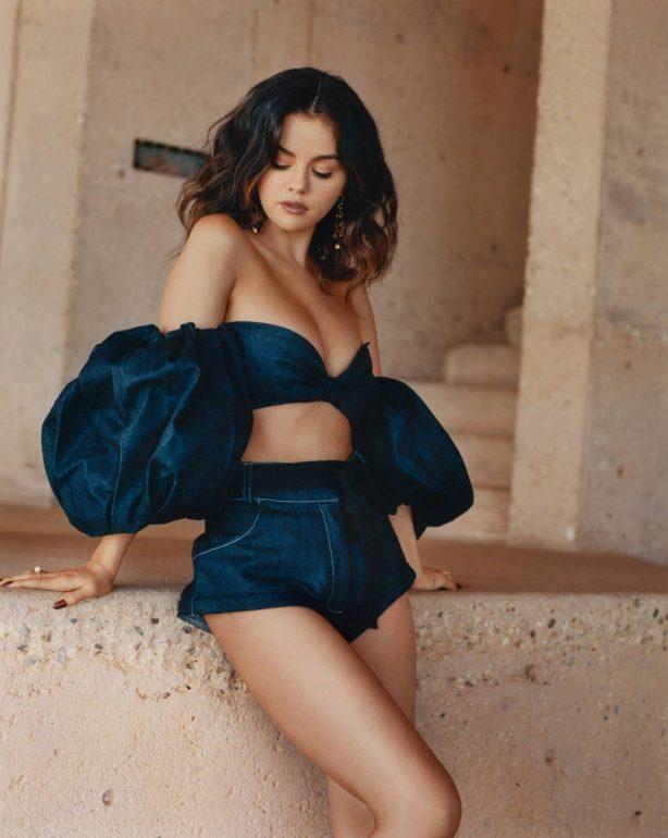 Selena Gomez - Allure Magazine (October 2020) adds