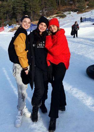 Selena Gomez and Bailee Madison - Social Media Pics