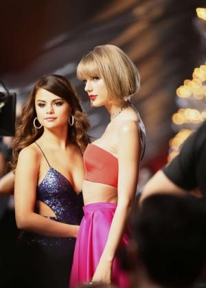 Selena Gomez and Taylor Swift: 2016 GRAMMY Awards -18