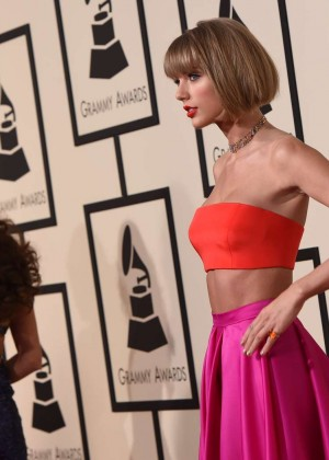 Selena Gomez and Taylor Swift: 2016 GRAMMY Awards -22