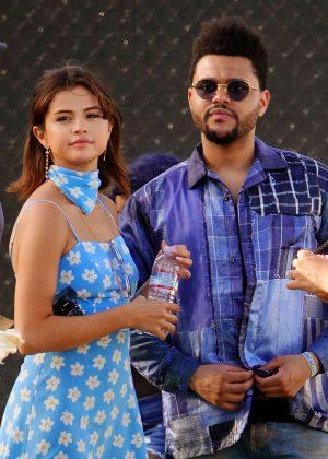 Selena Gomez and The Weeknd - 2017 Coachella Music Festival in Indio
